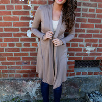 Care Free Cardigan {Latte}