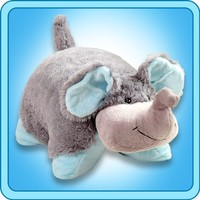My Pillow Pets Large 18 Inch Square Nutty Elephant Plush Pillow