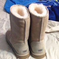 UGG Classic Boots Wool Fur Boots Half Boots Shoes-1
