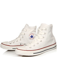 Converse White Chuck Taylor All Star Hi Top Trainers | Women's Trainers by Converse | Liberty.co.uk
