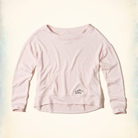 Gilly Hicks Cozy Crew Sleep Sweatshirt | Gilly Hicks New Arrivals | HollisterCo.com