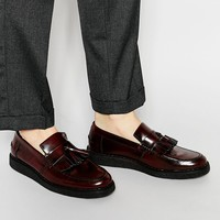Fred Perry X George Cox Leather Tassel Loafers at asos.com