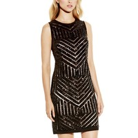 Vince Camuto Sequin Sleeveless Dress