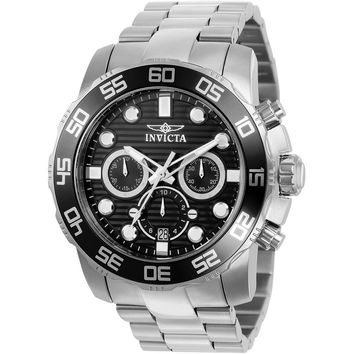 Invicta Men's 22226 Pro Diver Quartz Chronograph Black Dial Watch