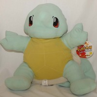 Pokemon Squirtle Plush Jumbo Cuddle Pillow 24 Inches