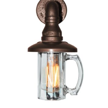 Beer Mug Lamps (Sconce for outdoors)