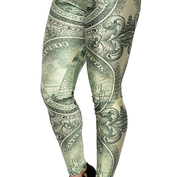 Dollar Bill Leggings Design 74