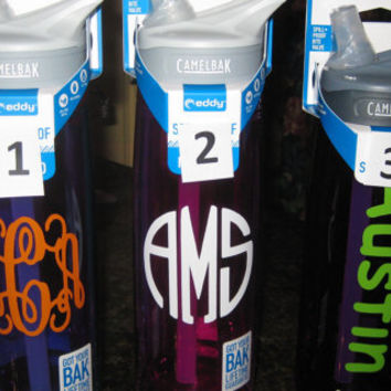INSULATED Camelbak, Personalized any way you want