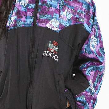 Vintage Gucci Windbreaker Jacket