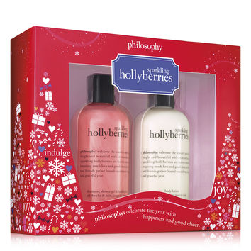 sparkling hollyberries duo