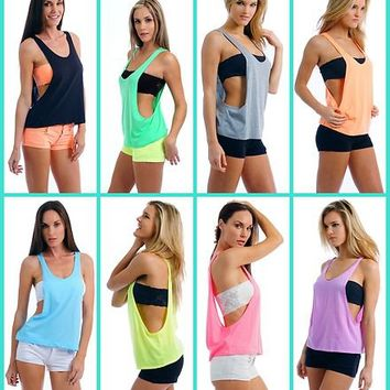 on rvca label drapes women featuring tops polyvore found s top drape shirts pin tank