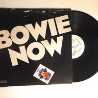 OCTOBER SALE David Bowie Bowie Now LP Album Rare Dj Promo Only 1978 Vinyl Record Breaking Glass