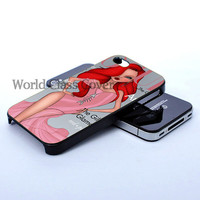 Princess Ariel Cover, Photo On Hard Cover iPhone case, iPhone 4 Case, iPhone 4S Case, iPhone 5 Case