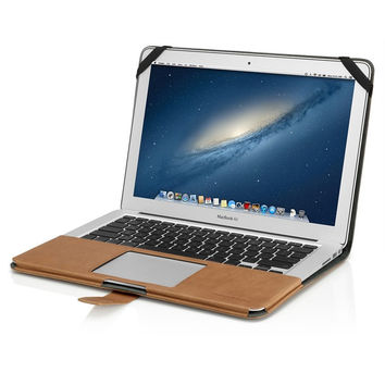 Sleek Leather Macbook Air Case
