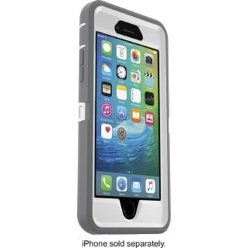 OtterBox - Defender Series Case for Apple® iPhone® 6 and 6s - Glacier
