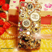 iPhone 5 Case iPhone 4 case Bling iPhone 4s by iphone5caseiphone4