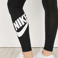""" NIKE ""Fashion women Sports trousers ""NIKE""print Black pants G"