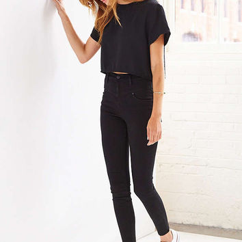 BDG Seamed High-Rise Jean - Black | Urban Outfitters