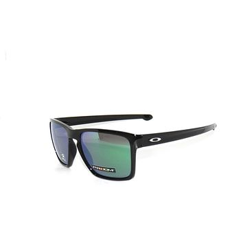 OAKLEY SLIVER XL 9341-19 POLISHED BLACK/PRIZM JADE IRIDIUM SunglasseS