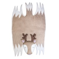 Children's Elk Felt Rug