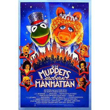 THE MUPPETS TAKE MANHATTAN movie poster dabney COLEMAN joan RIVERS 24X36