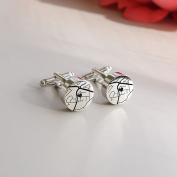 Map Cufflinks - Thoughtful Gift