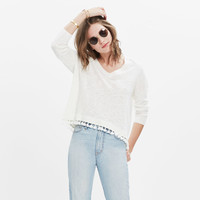 Globe Fringe Sweater