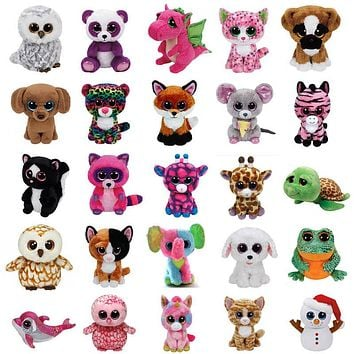 "15CM TY BEANIE BOOSTUFFED NEW *MAPLE* 2017 TY BEANIE BOOS6"" MOOSE/POODLE~EXCLUSIVE CLAIRES EXCLUSIVE 6"" SOFT LADYBUG PLUSH TOY"