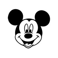 Mickey Mouse - Car, Truck, Notebook, Vinyl Decal Sticker Any Corlor