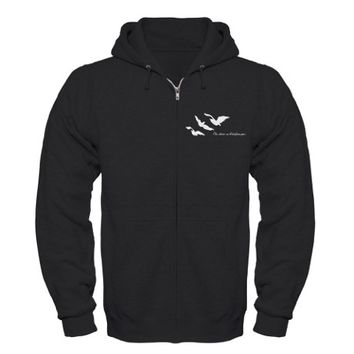 Divergent - One Choice Ravens Tattoo Zip Hoodie