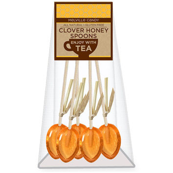 Mini Clover Honey Spoons