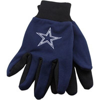 Dallas Cowboys Two Tone Gloves