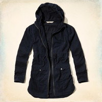 Point Mugu Twill Parka