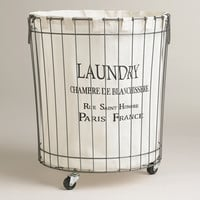 Claudette Wire Hamper - World Market