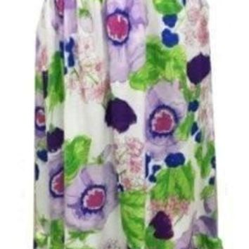 Clearance Sweet as Sugar Couture The Monet Water Garden Maxi Dress