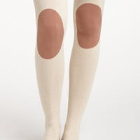 Kneepatch Tights - Anthropologie.com
