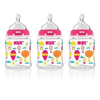 Nuk 3-pk. 5-oz. Core Slow Flow Orthodontic Bottles