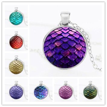 Big Egg Necklace Pendant Set Necklace Crystal Pendant Necklace Gem Dragon Ball E Dragon Ball Jewelry