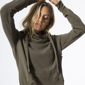 Lisse Sweatshirts in Drab