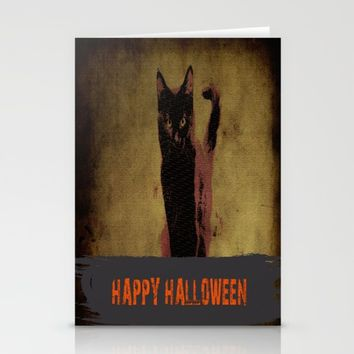 Halloween  Stationery Cards by Jessica Ivy