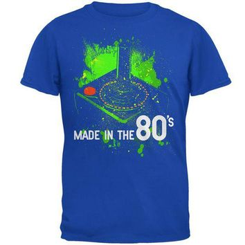PEAPGQ9 Original Gamer Made in the 80's Mens Soft T Shirt