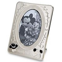 Your WDW Store - Disney Picture Frame - Wedding Mickey and Minnie Mouse - 5 x 7