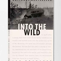 Into The Wild By Jon Krakauer- Assorted One