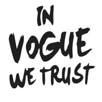 In Vogue We Trust Art Print by LuxuryLivingNYC