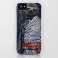 General Sloth iPhone & iPod Case by Chrissy