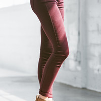 Bullhead Denim Co. Cabernet Dreamy Mid Rise Jeggings at PacSun.com