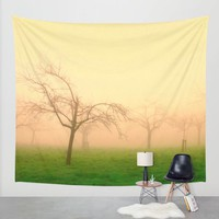 Morning Fog - JUSTART © Wall Tapestry by JUSTART * Syl