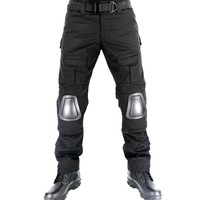 Military Tactical Combat Pants with Knee Pads Airsoft Paintball Gear Outdoor Sports Hunting Camouflage Trouser