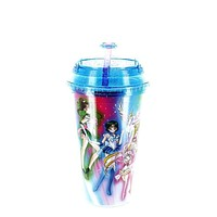 Sailor Moon 16oz. Carnival Cup with Glitter Dome Lid Officially Licensed