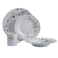 Heal's | Heal's Zephyr Platinum Dinnerware Range > Decorated Dinnerware > Tableware > Dining Room